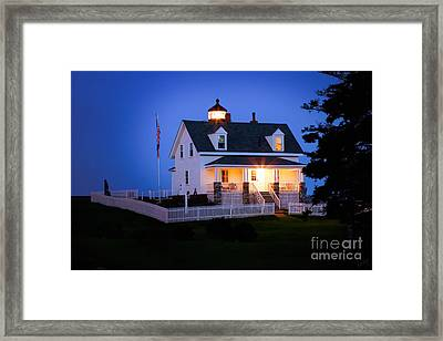 Pemaquid Point Lighthouse 3071 Framed Print