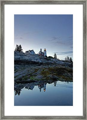 Pemaquid Point Lighthouse Framed Print by Juergen Roth