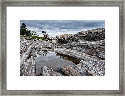 Pemaquid Point Lighthouse Framed Print