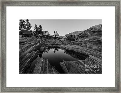 Pemaquid Reflecting Framed Print by Paul Noble