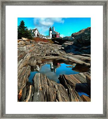 Pemaquid Reflection Framed Print