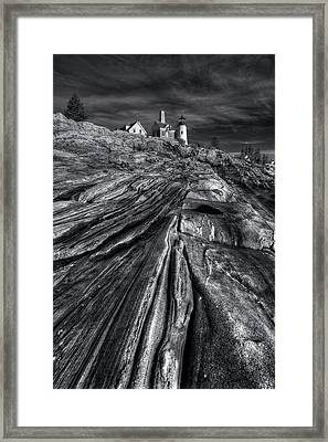 Pemaquid Ridge Framed Print