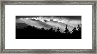 Framed Print featuring the photograph Pemigewasset Wilderness by Bill Wakeley