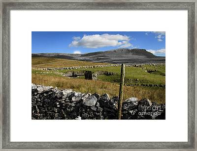 Pen Y Ghent, North Yorkshire Framed Print by Peter Stuart