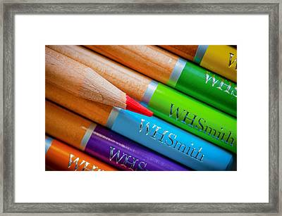 Pencils 3 Framed Print