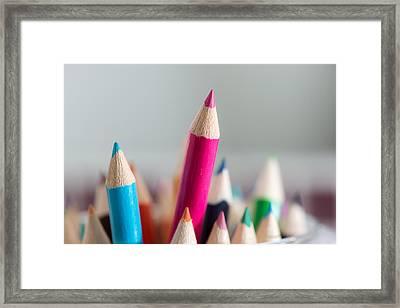 Pencils 4 Framed Print