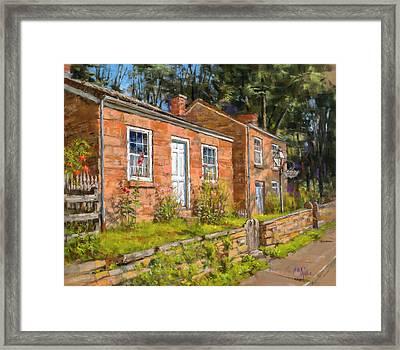 Pendarvis House Framed Print