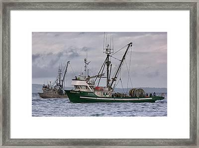 Pender Isle And Santa Cruz Framed Print