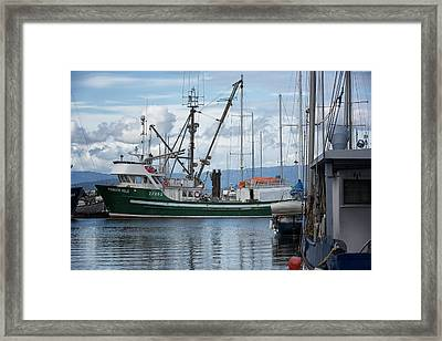 Pender Isle At French Creek Framed Print by Randy Hall