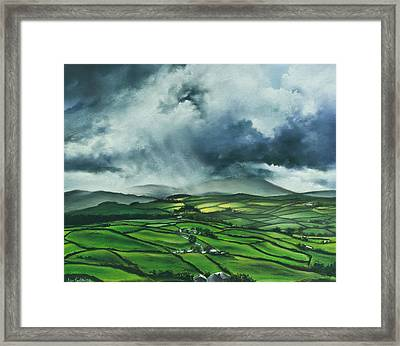 Pendle Hill. Lancashire.england. Framed Print by Jan Farthing