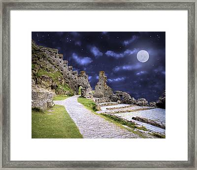 Pendragon Moon Framed Print