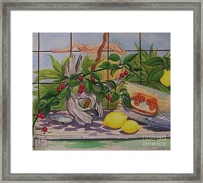 Penelope Framed Print by Janet Summers-Tembeli