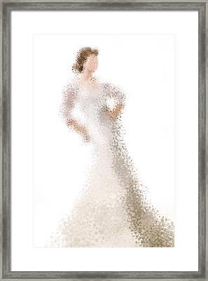 Framed Print featuring the digital art Penelope by Nancy Levan
