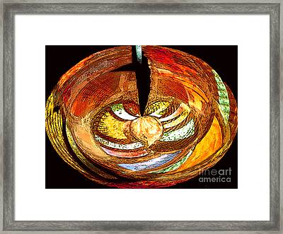 Penetration Framed Print by Patric Carter