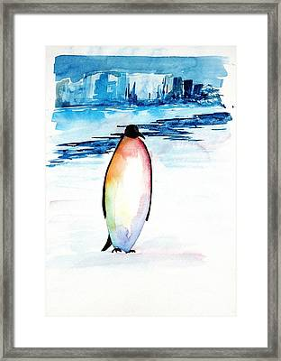 Penguin 2 Framed Print