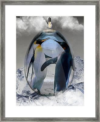 Penguin Art Framed Print