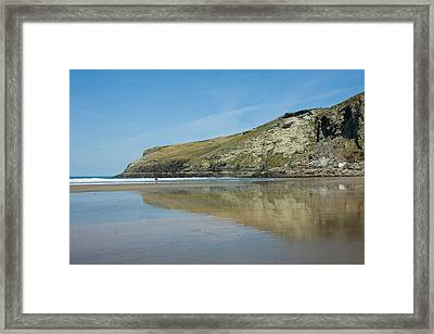 Penhallic Point Framed Print by David Wilkins