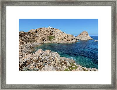 Peninsula L'ile Rousse - Corsica Framed Print