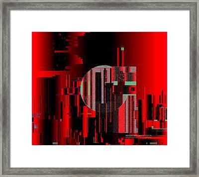Penman Original - 105 Framed Print by Andrew Penman