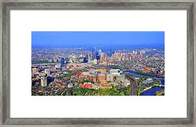 Penn Hup Chop Philadelphia 0541 Framed Print