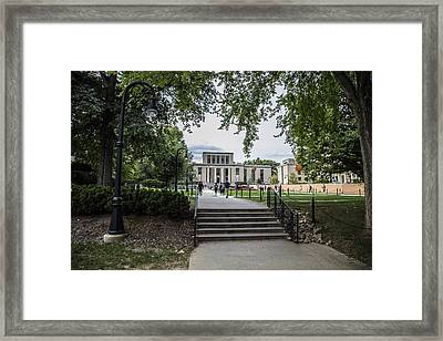 Penn State Library  Framed Print by John McGraw