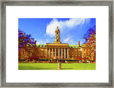 Penn State University Framed Print