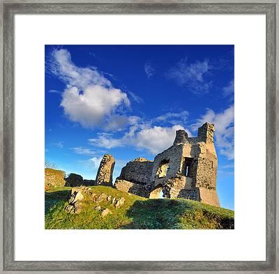 Pennard Castle Framed Print