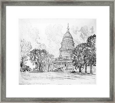 Pennell Capitol, 1912 Framed Print by Granger