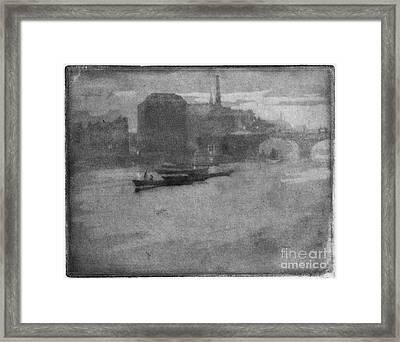 Pennell Thames, 1903 Framed Print by Granger