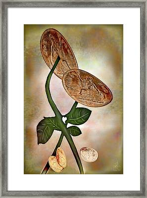 Pennies From Heaven Framed Print