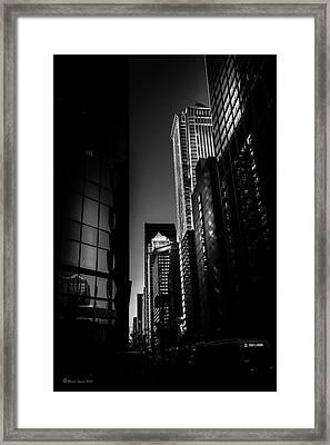 Penn's Landing Framed Print by Marvin Spates