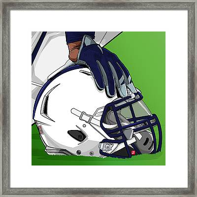 Pennstate College Football Framed Print