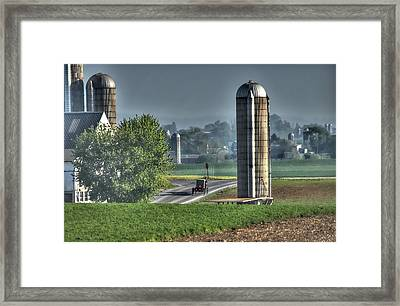 Pennsylvania - Amish Country  Framed Print