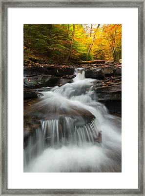 Framed Print featuring the photograph Pennsylvania by Bernard Chen