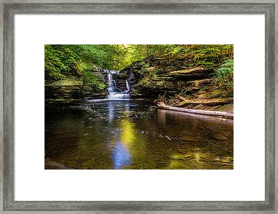 Pennsylvania Cascades Framed Print by Marvin Spates
