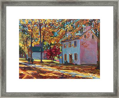 Pennsylvania Colors Framed Print