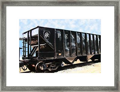 Framed Print featuring the photograph Pennsylvania Hopper by RC DeWinter