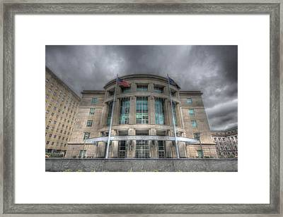 Pennsylvania Judicial Center Framed Print