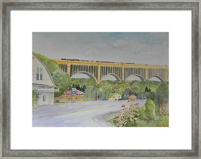 Pennsylvania - Nicholson Bridge Framed Print