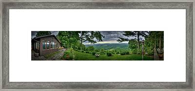 Pennsylvania Overlook Framed Print