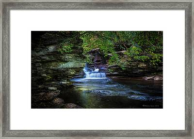 Pennsylvania Stream Framed Print by Marvin Spates