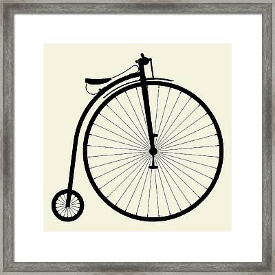 Penny-farthing Bicycle Framed Print