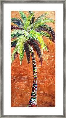 Penny Palm Framed Print