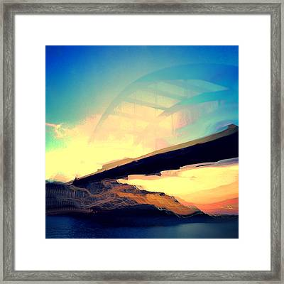 Pennybacker Bridge Framed Print by Christy LaSalle