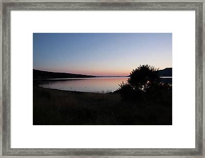 Pennyghael Sunset Framed Print