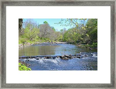 Framed Print featuring the photograph Pennypack Creek - Philadelphia by Bill Cannon