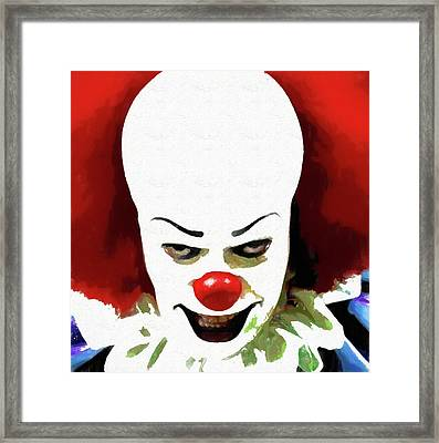 Pennywise Clown Framed Print