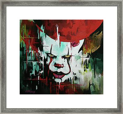 Pennywise  Framed Print