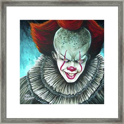 PENNY WISE Picture Print On Framed Canvas Wall Art Home Office Decor Artwork