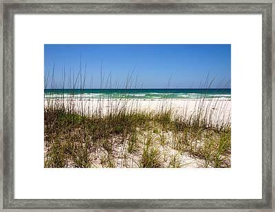 Pensacola Beach 1 - Pensacola Florida Framed Print